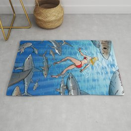 Below The Surface! Rug