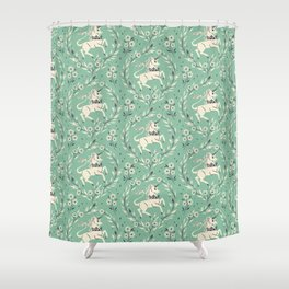 The Stirling Unicorn Shower Curtain
