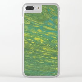 Peaceful Meanderings Clear iPhone Case