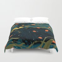 witch Duvet Covers featuring Witch by Shaina Anderson