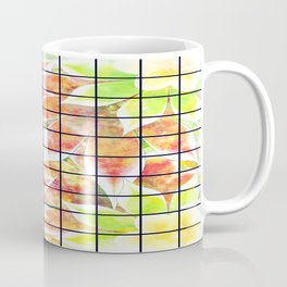 abstract floral background Coffee Mug