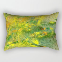 easy green and a live Rectangular Pillow