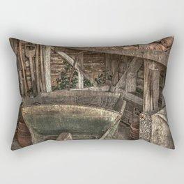 The Garden Shed Rectangular Pillow