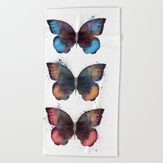 butterfly's Beach Towel