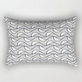 Autumn Waves Rectangular Pillow