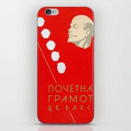 Lenin iPhone Skin