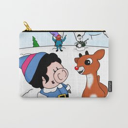 Hanging with Rudolph Carry-All Pouch
