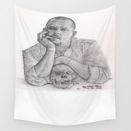 Alexander McQueen Savage Beauty Drawing Wall Tapestry