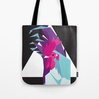 rooster Tote Bags featuring Rooster by Sudário