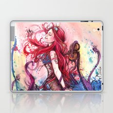 Steampunk Mermaid Laptop & iPad Skin