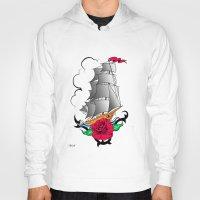ship Hoodies featuring ship by mark ashkenazi