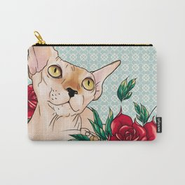 Ramona in flowers Carry-All Pouch