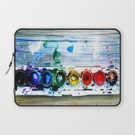 forrest's paint Laptop Sleeve