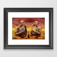 Hochstimmung Framed Art Print