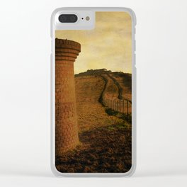 On Shakespeare Cliff Clear iPhone Case