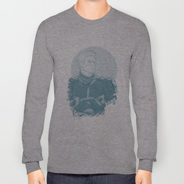 Raleigh, Gypsy Danger Pilot (Blue) Long Sleeve T-shirt