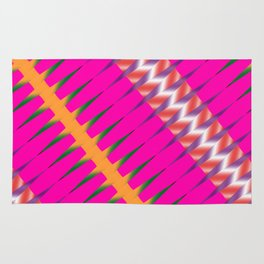 Play of colors Rug
