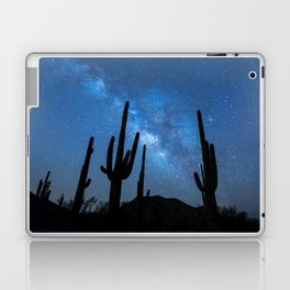Milky Way, Dreams and Succulents Laptop & iPad Skin