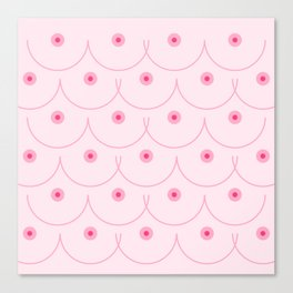 Pinky Nipple Canvas Print