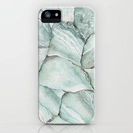 Aquamarine Stone iPhone Case
