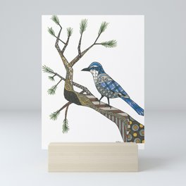 California Blue Jay Mini Art Print