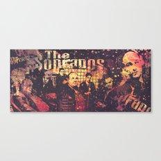 The Sopranos (in memory of James Gandolfini) Canvas Print