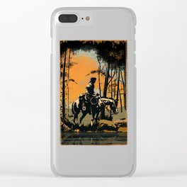 In the Evening (version 2) Clear iPhone Case