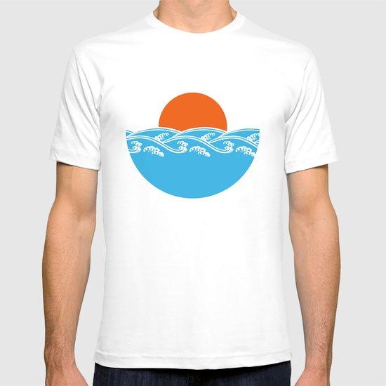 Japanese Tsunami  T-shirt