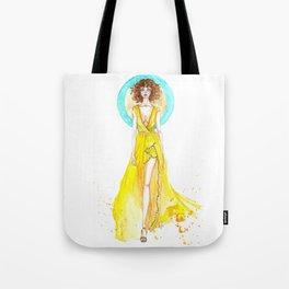 Summer Dress Tote Bag