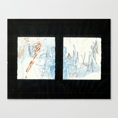 blue boy. 2009 Canvas Print