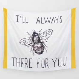 Bee There Wall Tapestry