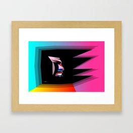El Desperado Framed Art Print