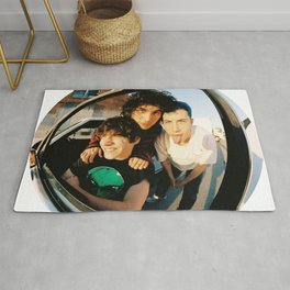 bubble poster Rug