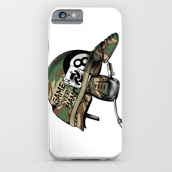 Game Over, Man! iPhone & iPod Case