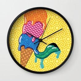 Arigato Ice Cream Wall Clock