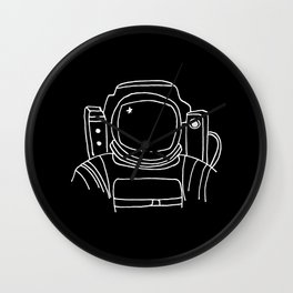 Out There 2 Wall Clock