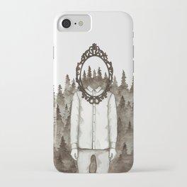 Forest Mirror iPhone Case