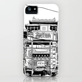 Yokohama - China town iPhone Case