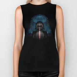 Darth Vader with Lightsaber in Galaxy Biker Tank