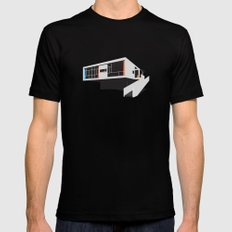 Rose Seidler House, Harry Seidler – Modern architecture series LARGE Black Mens Fitted Tee
