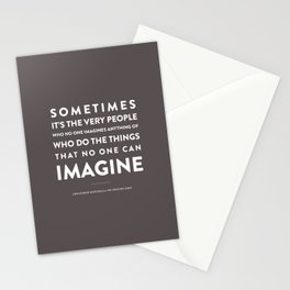 Imagine - Quotable Series Stationery Cards