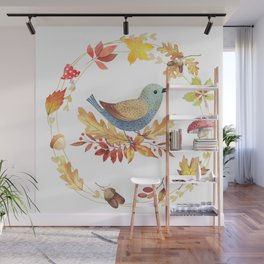Welcome Back Autumn Wall Mural