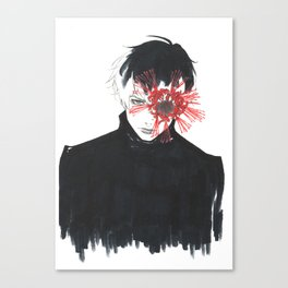 •Sasaki Haise• Canvas Print