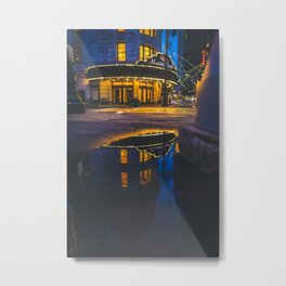 Alamo Drafthouse Reflections Metal Print