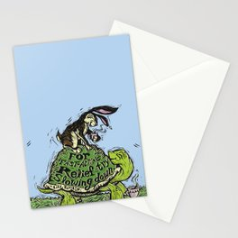 Try Slowing Down. Stationery Cards