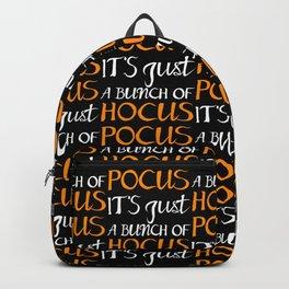 Halloween Hocus Pocus Backpack