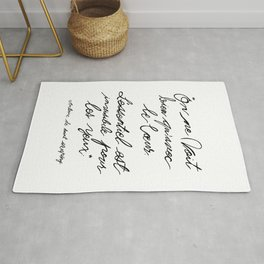 The Little Prince Quote 002 Rug
