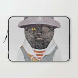 Pirate Cat Laptop Sleeve