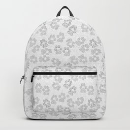 Puppy Paw Prints Backpack
