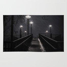 Snowy Night Rug
